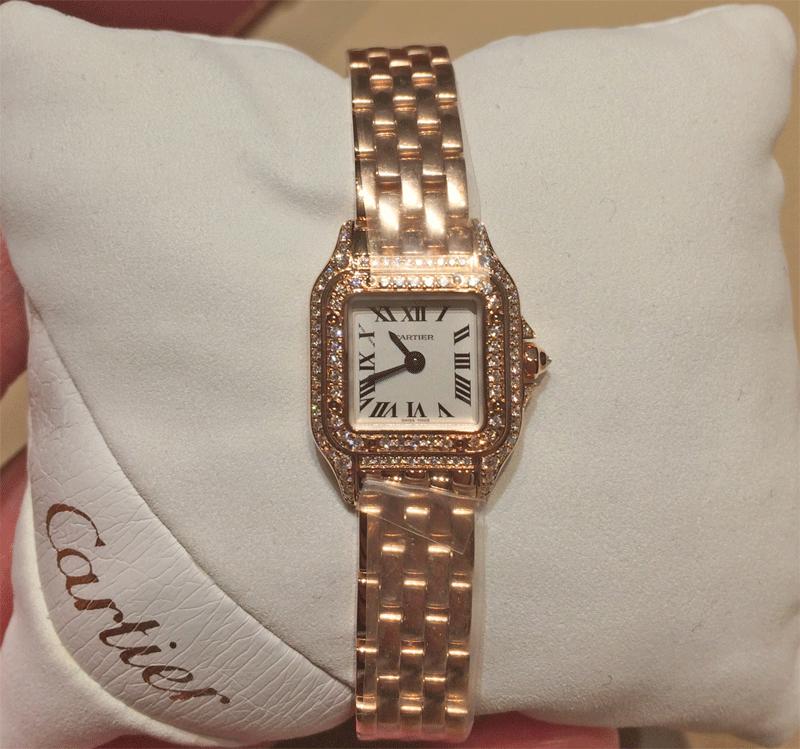 ピンクゴールド&ダイヤはより華やかな雰囲気に
