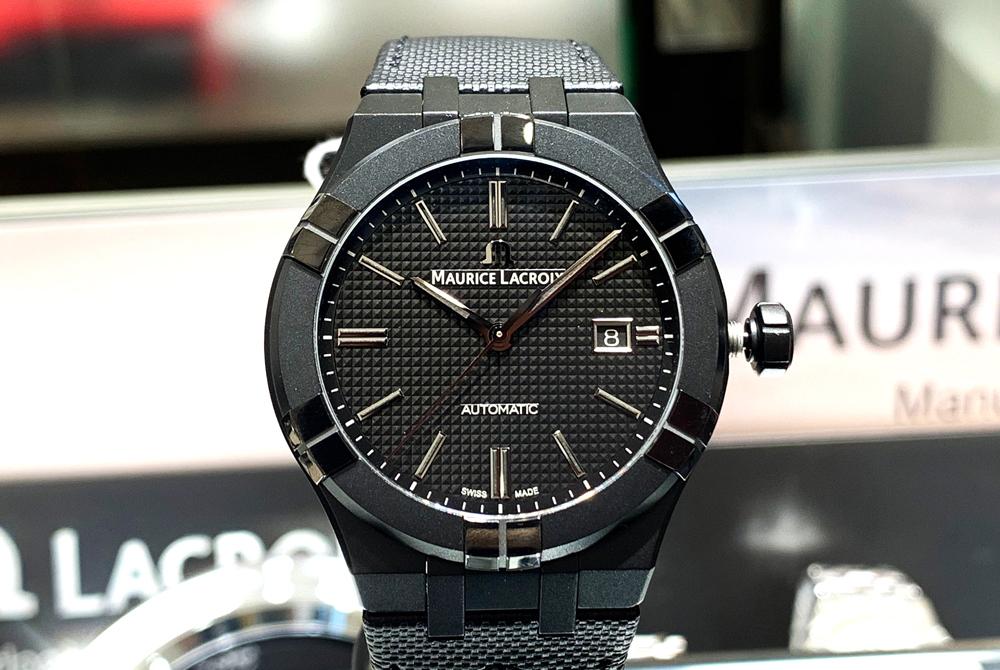 精悍なオールブラックモデル  AI6008-PVB01-330-1